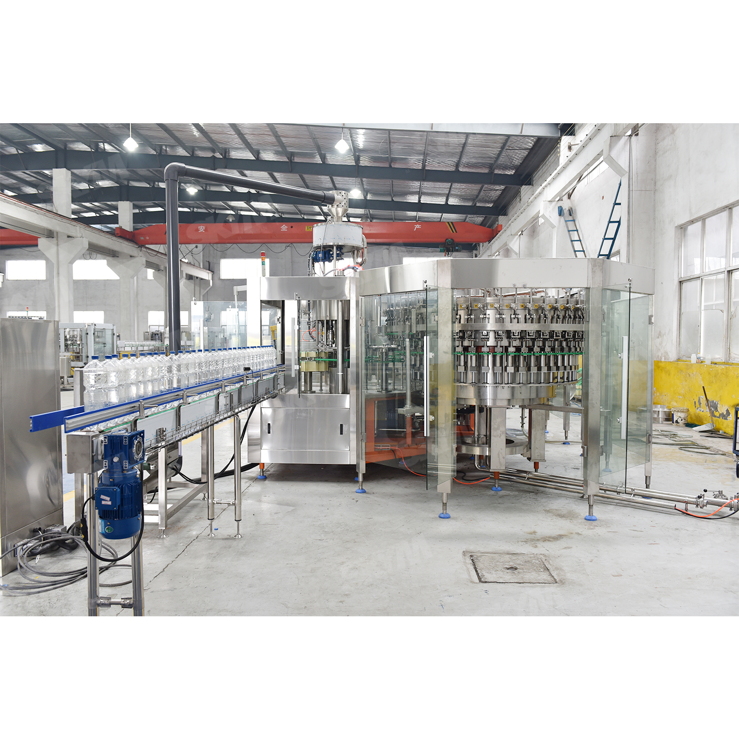 High Speed Soft Drink Carbonated Beverage Filling Machine