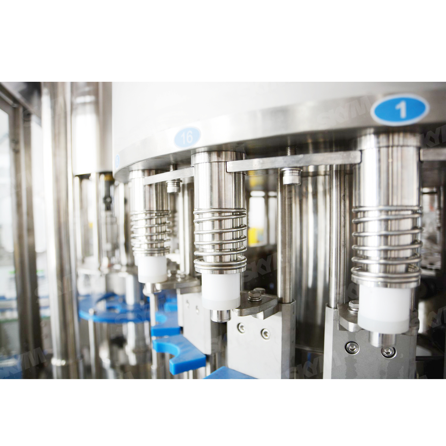 500ml Plastic Bottle Drinking Beverage Pure Mineral Water Bottling Filling Machine