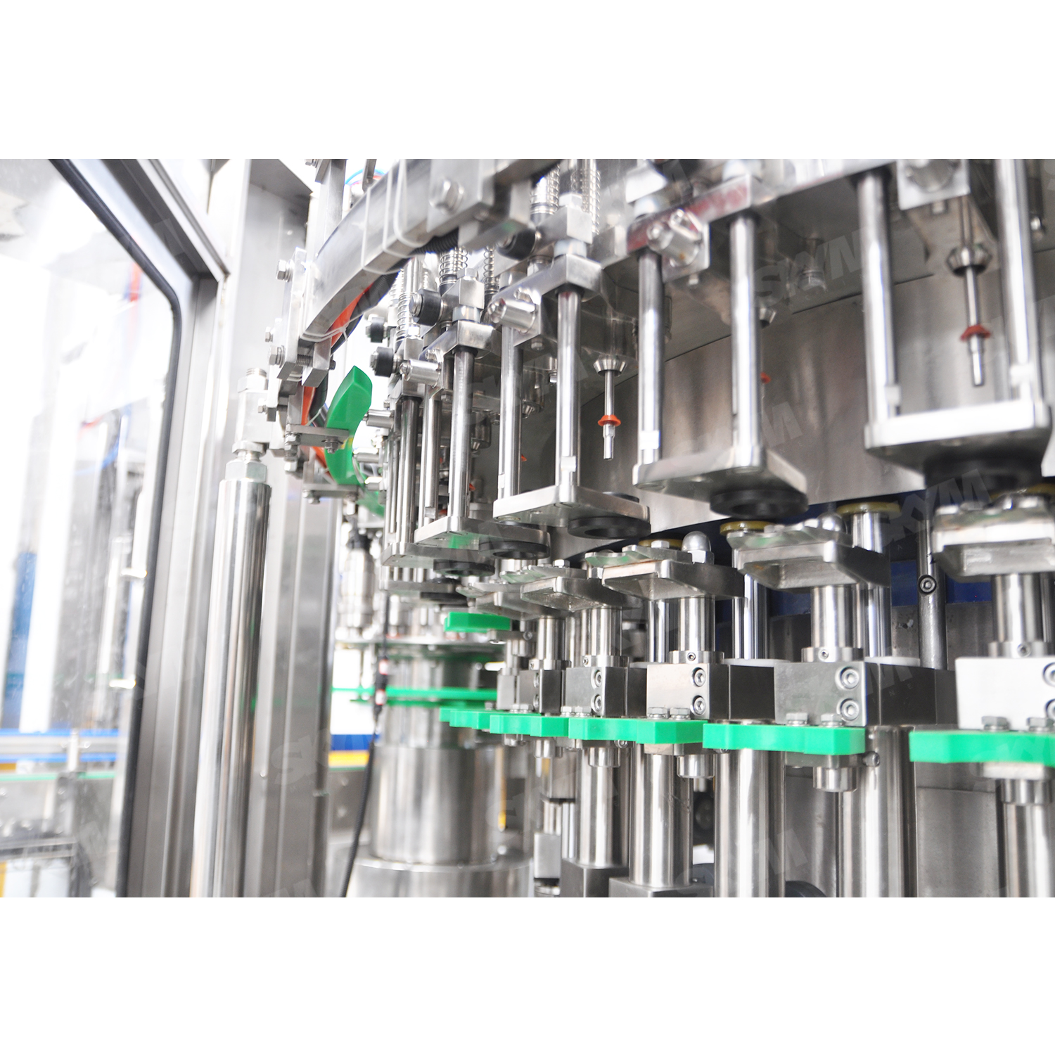500ml Plastic Bottle Packed Carbon Added Edible Liquid Filling And Packing Machine