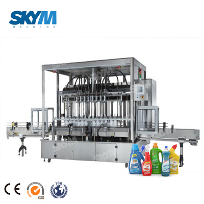 High Speed Alcohol 90% Disinfectant Spray Filling And Sealing Machine