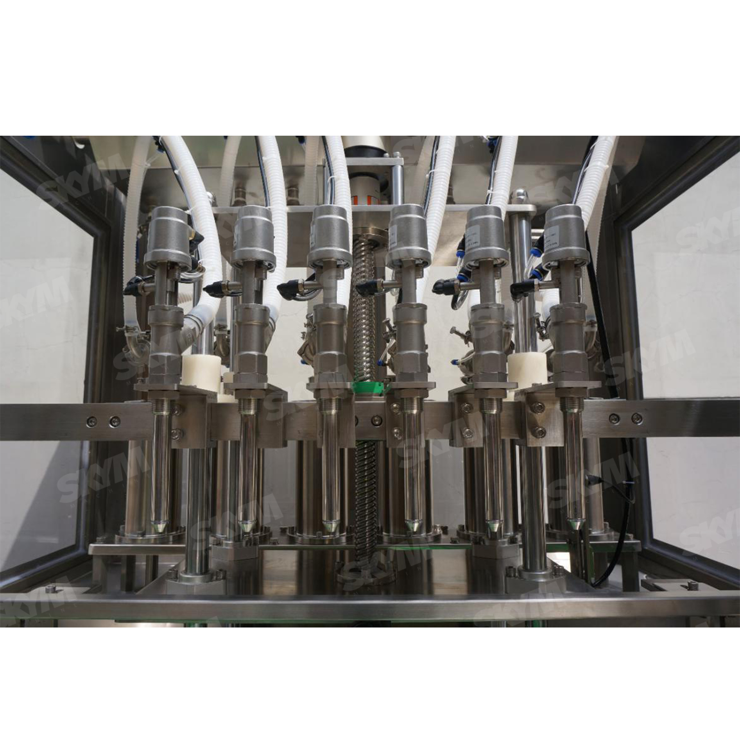Condiment Industrial Production Line Piston Type Filling Machine