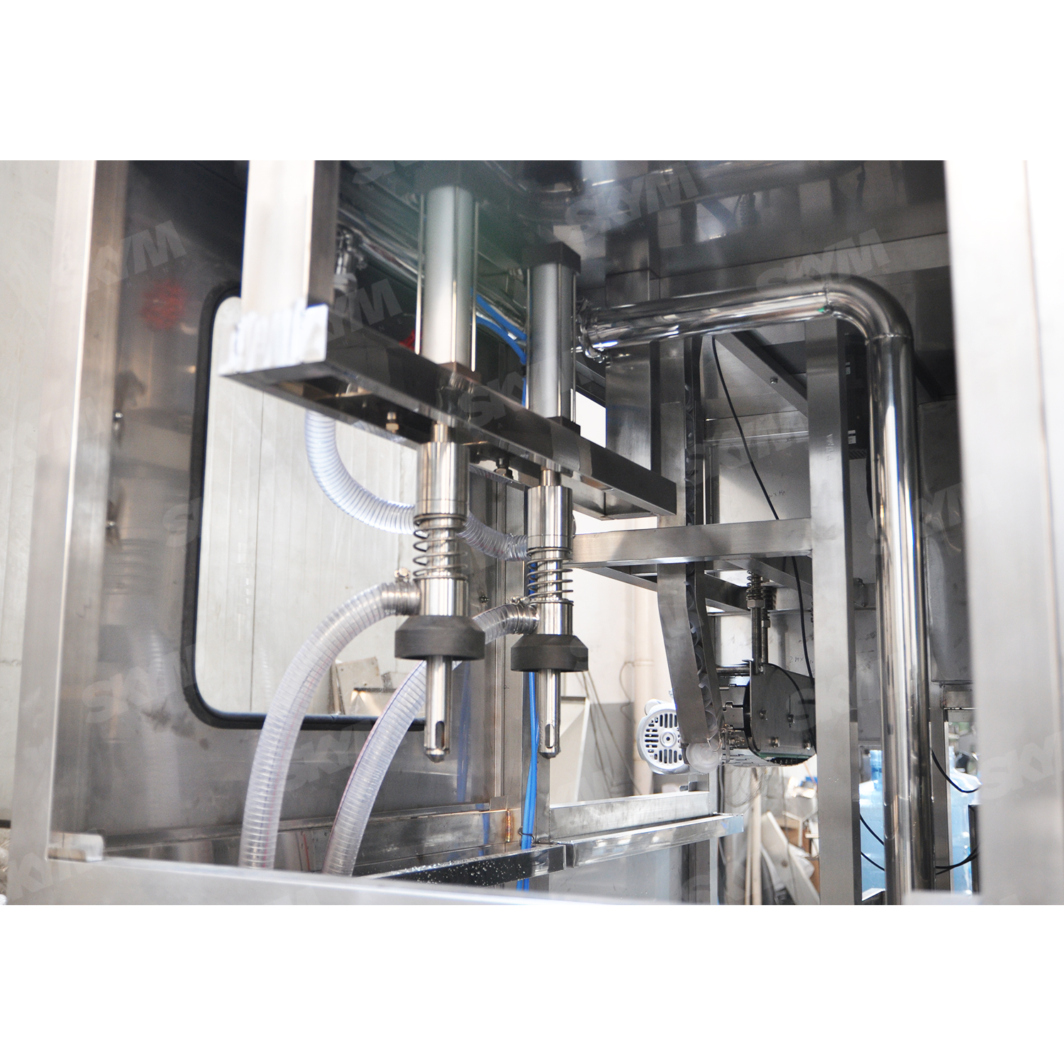 Gallon Bottle Linear Water Filling Machine