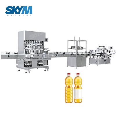 Automatic Viscous Fluid Edible Oil Filling Machine