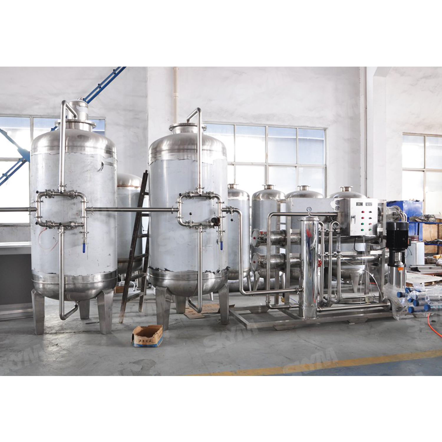 3000LPH Industrial RO Pure Water Treatment Equipment