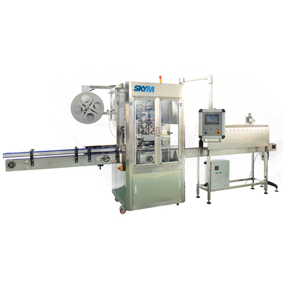 Auto PVC Film Shrink Sleeve Labeling Machine