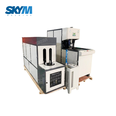 Semi-auto One Blowers One Heater Plastic Bottle Blow Molding Machine