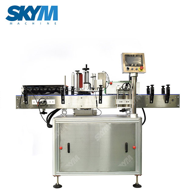 Automatic Round Bottle Self Adhesive Labeling Machine