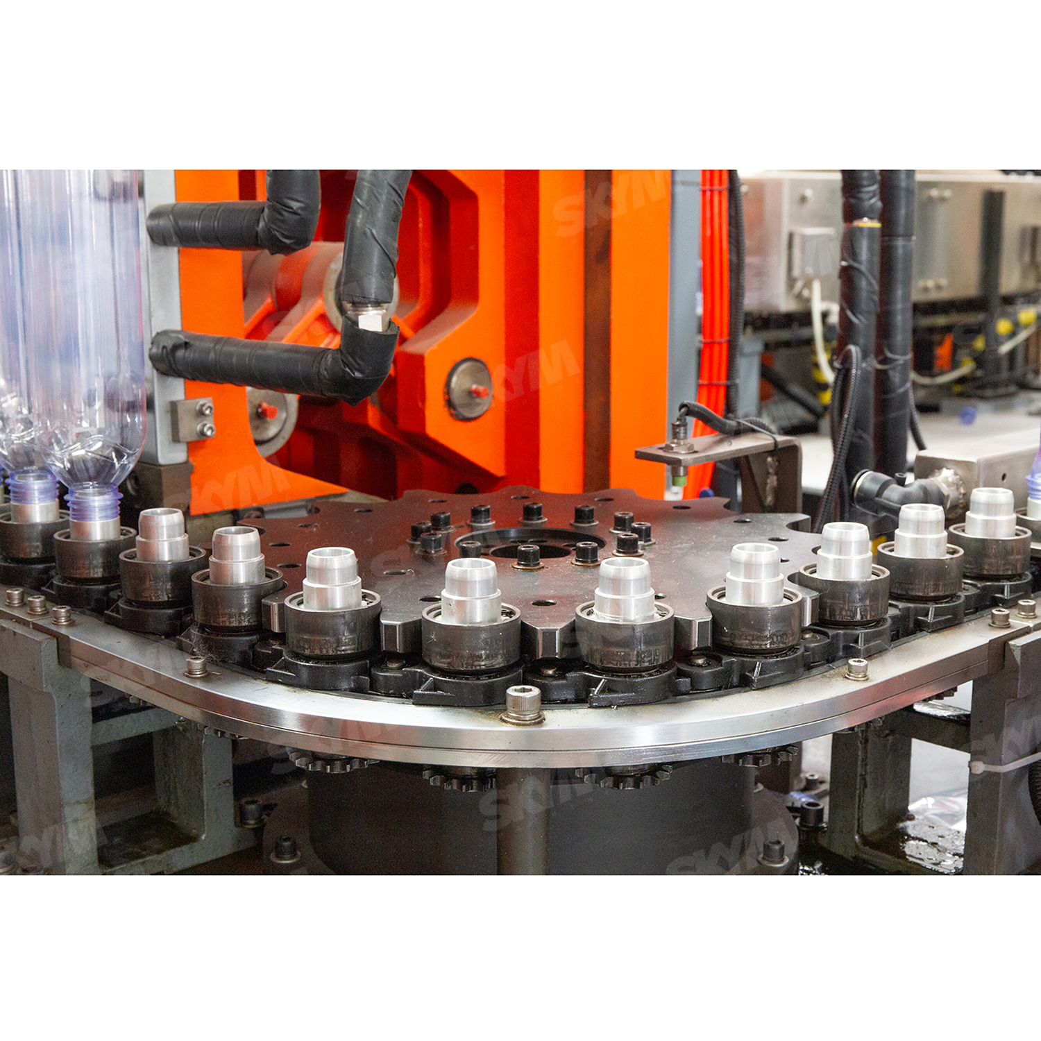 1L 6 Cavity PET Bottles Blow Molding Machine