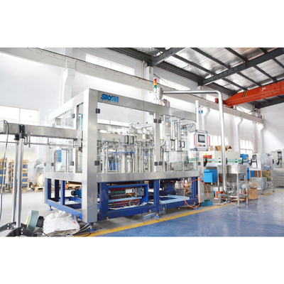 Factory Price Soft Drink Glass Bottle Filling Machine