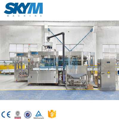 Automatic Aerated Water PET Bottle Filling Machine