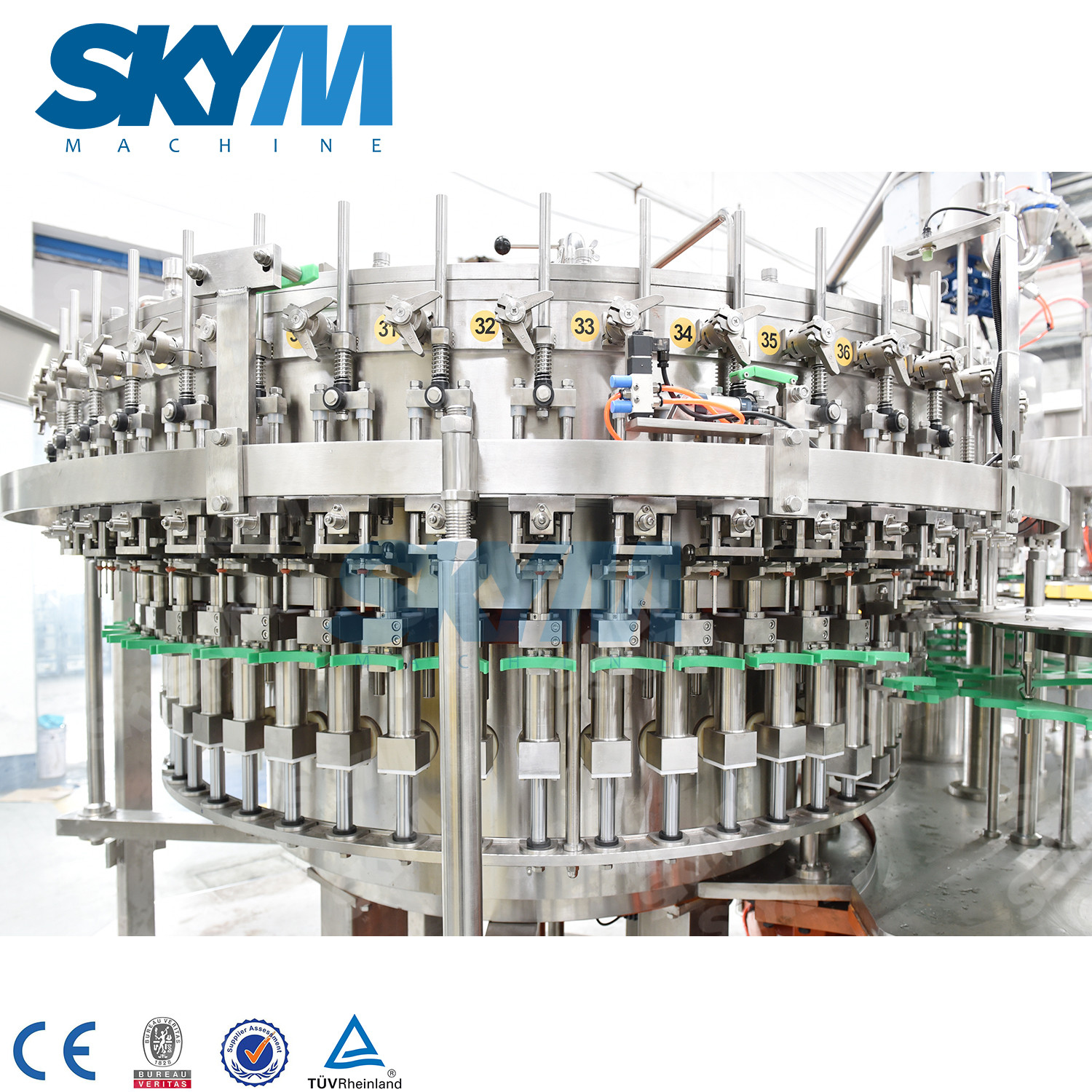 15000BPH Soda PET Bottle Filling Machine