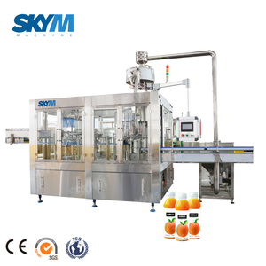 Automatic 3 in 1 Juice Beverage Drink Bottle Filling Machine