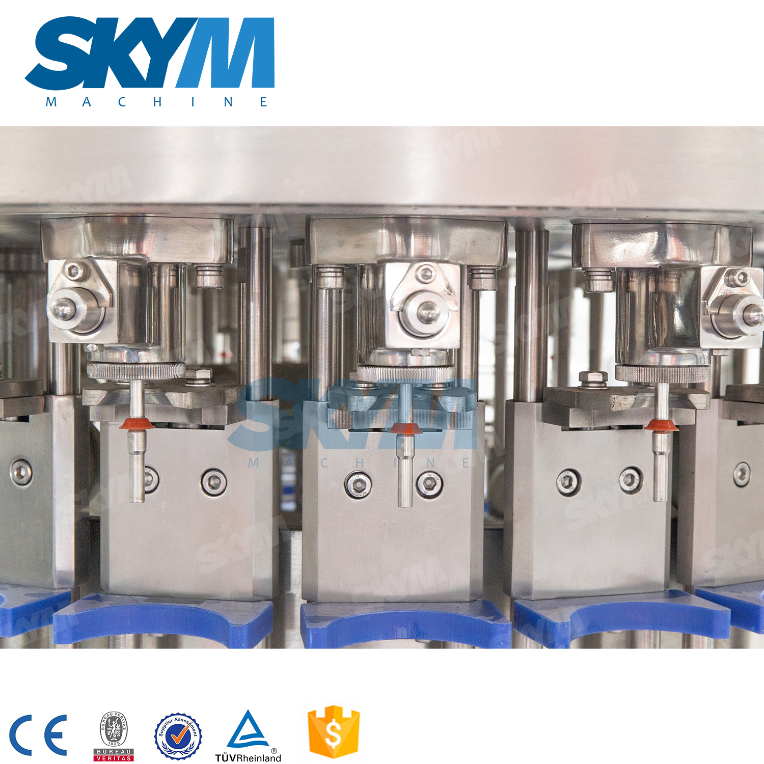 8000BPH Cola PET Bottle Drink Filling Machine