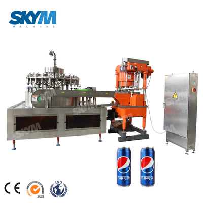 Automatic Completely Line Fruit Juice Industrial Can Filling Equipment